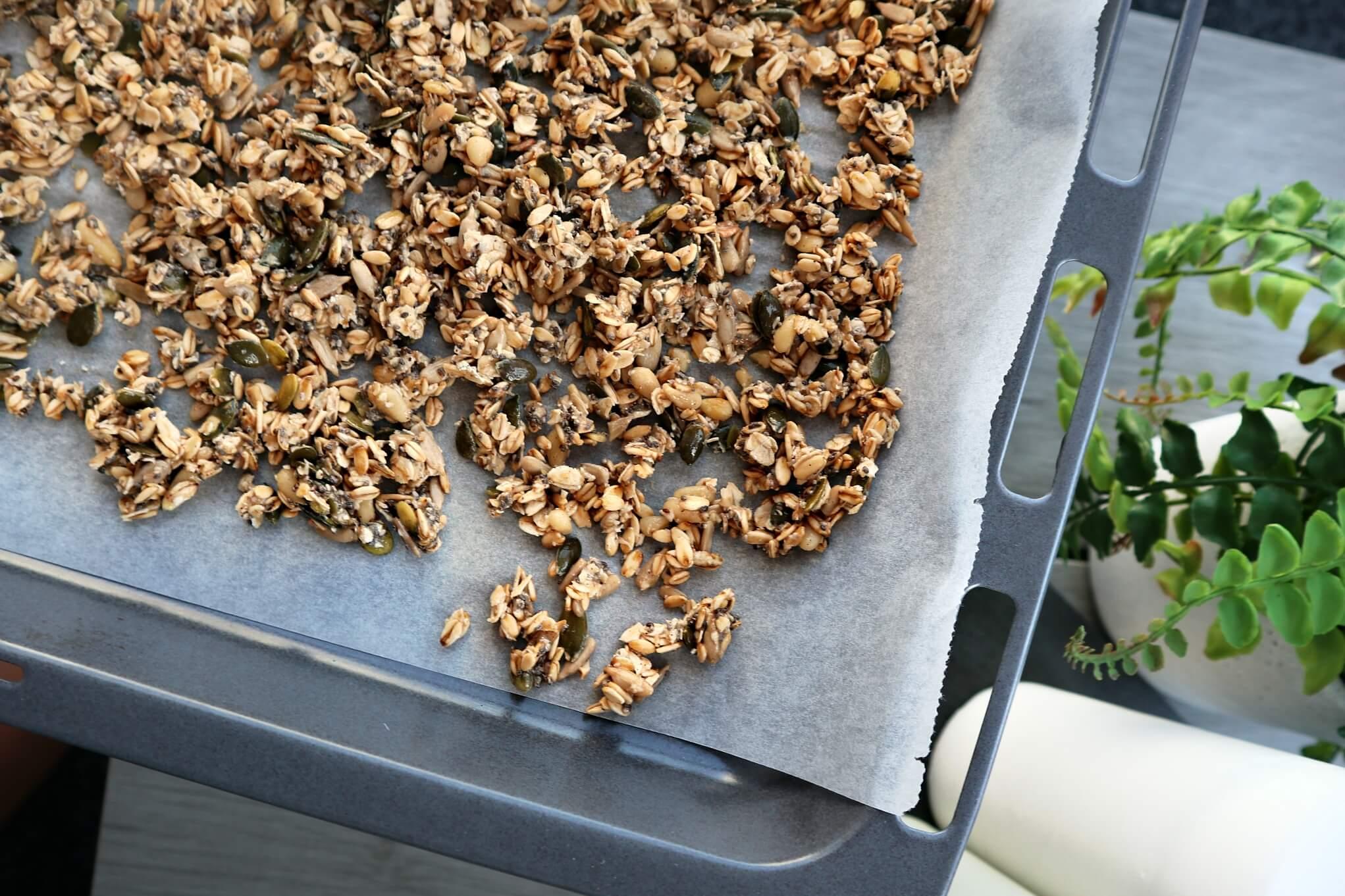 hemmagjord granola utan socker