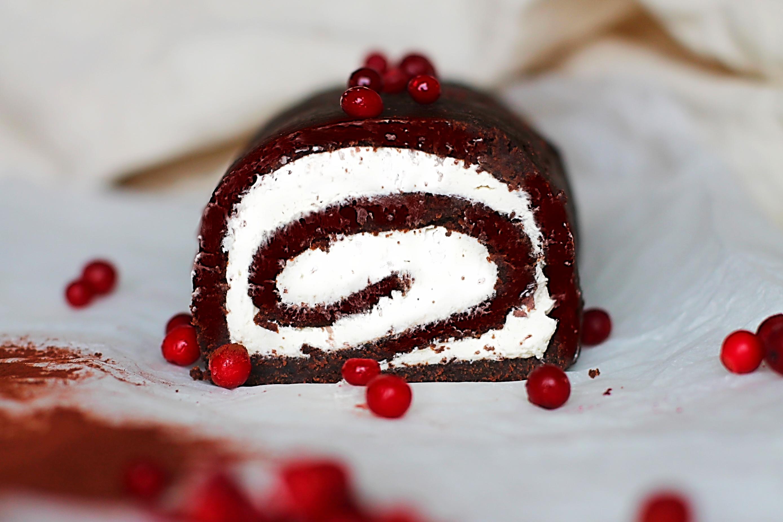 Chokladrulltårta