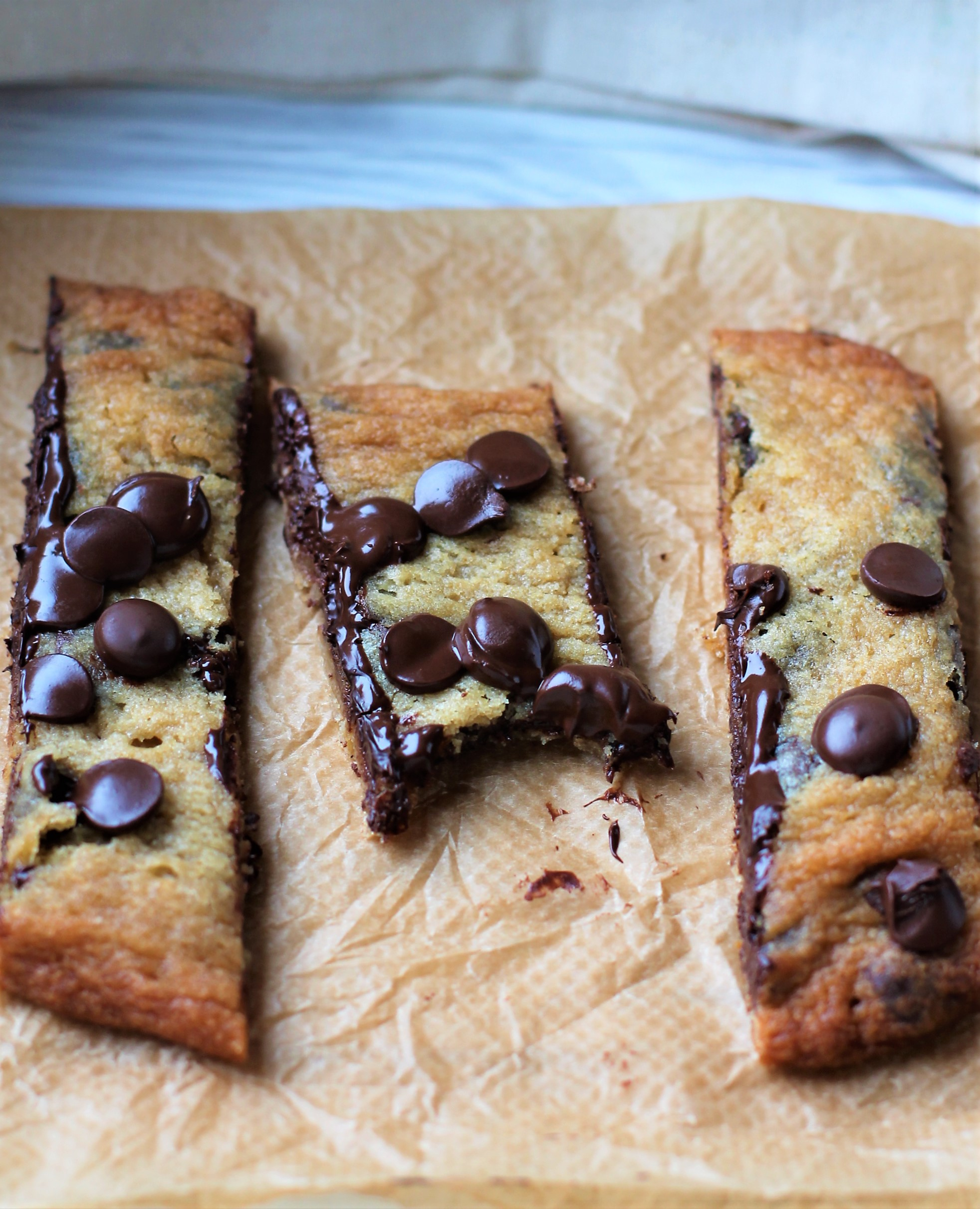 veganska chocolate chip cookies