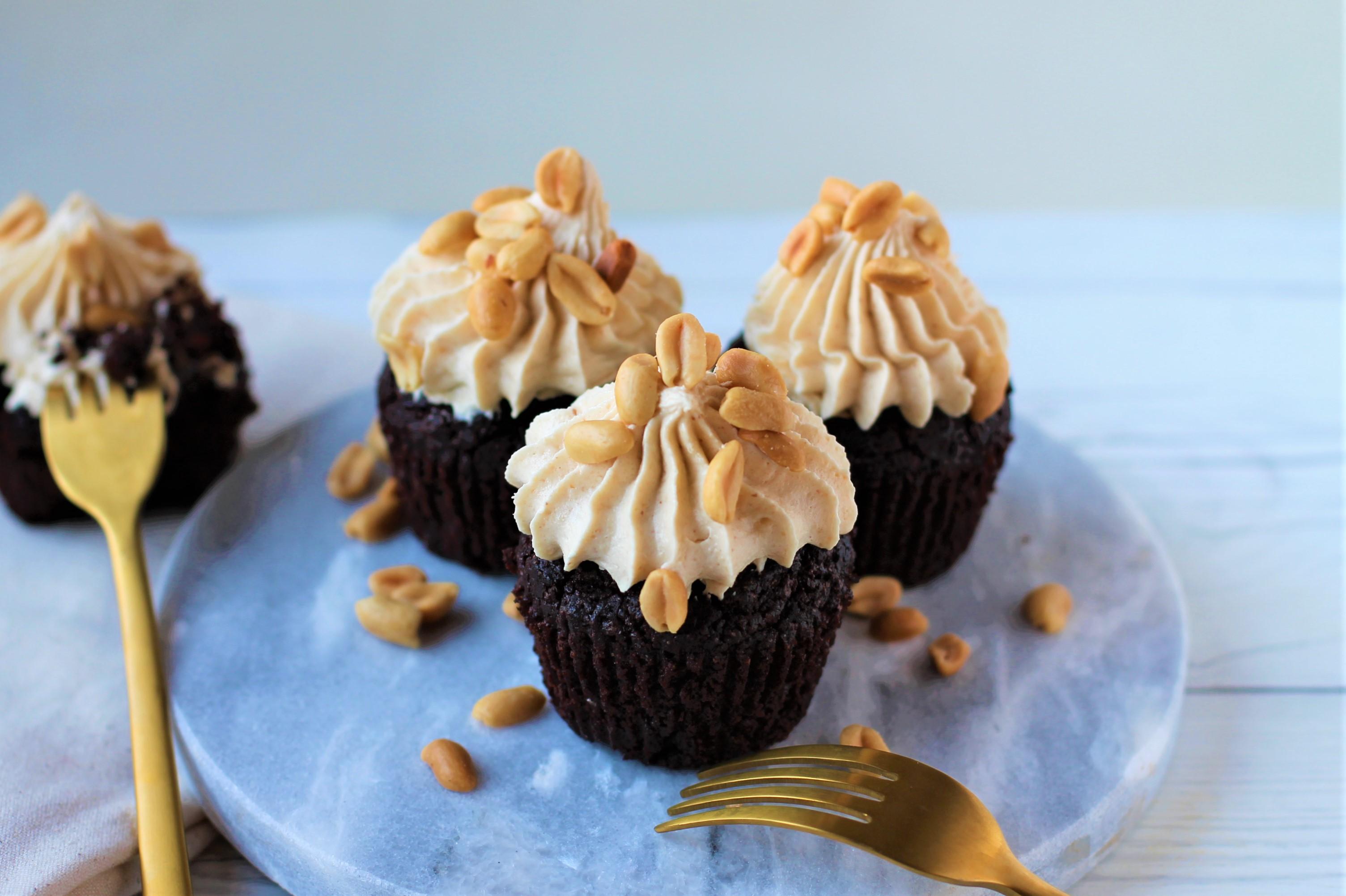 veganska chokladmuffins