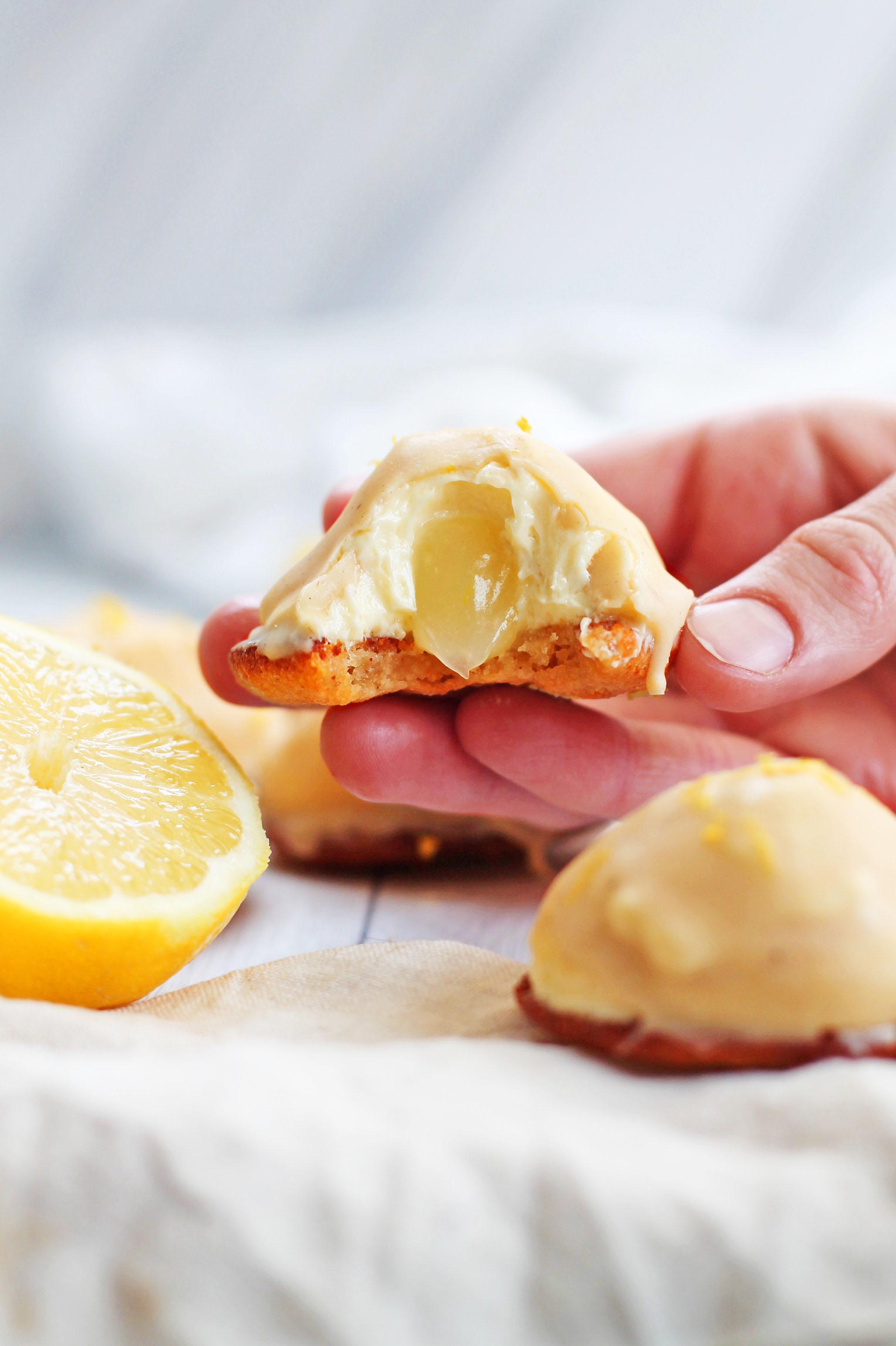 veganska biskvier citron