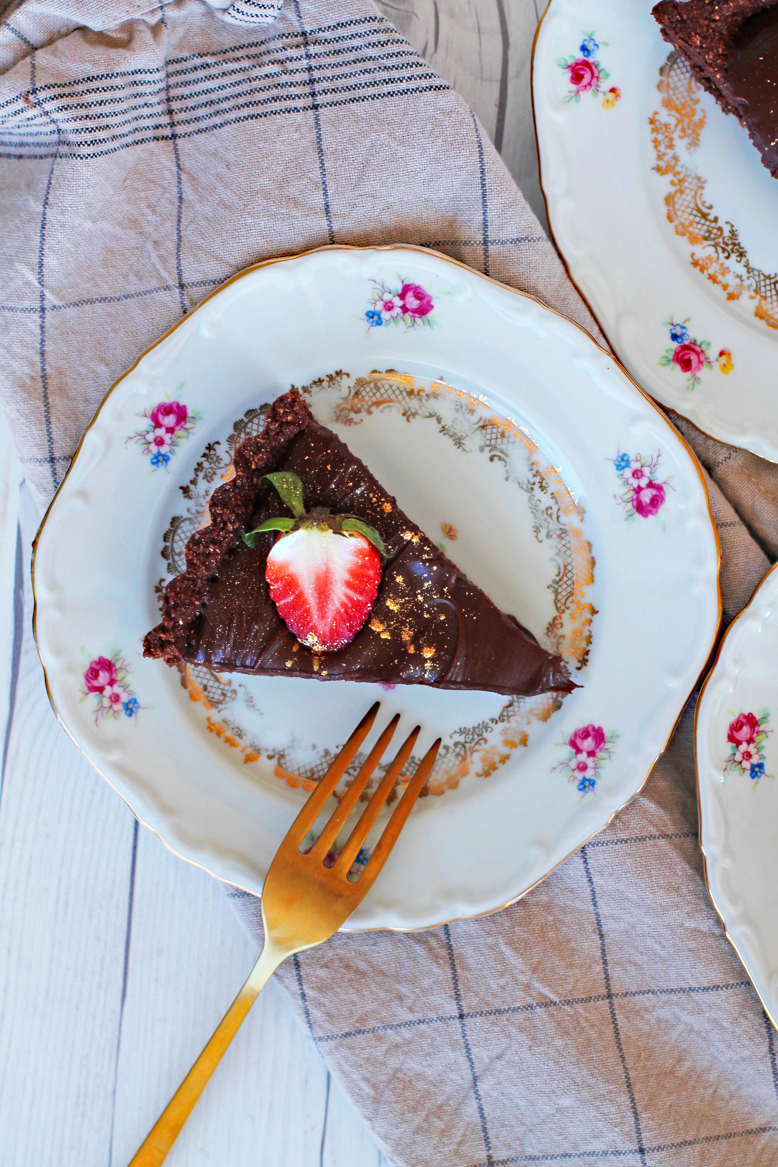 vegansk chokladbollspaj