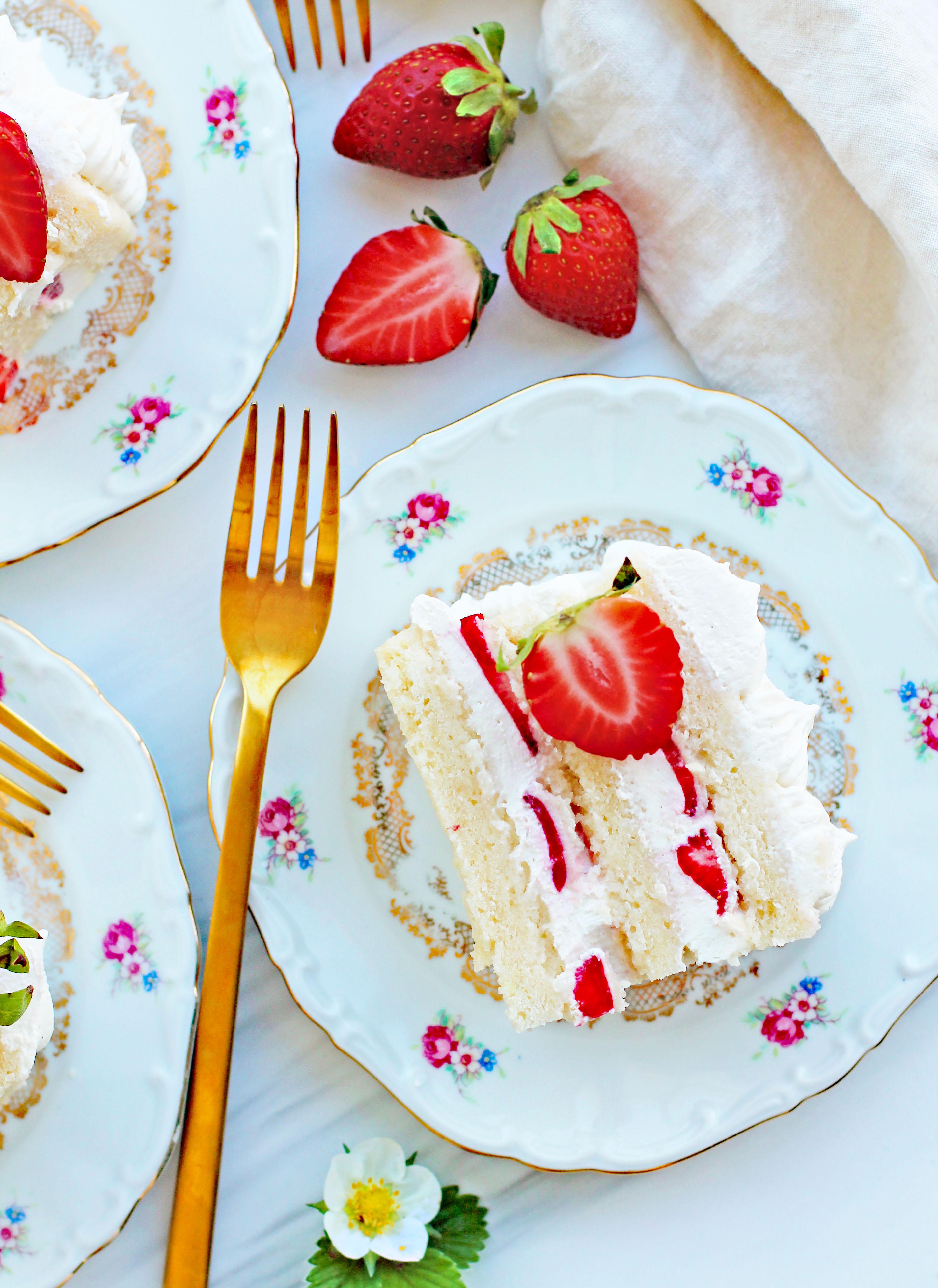 vegansk sommartårta