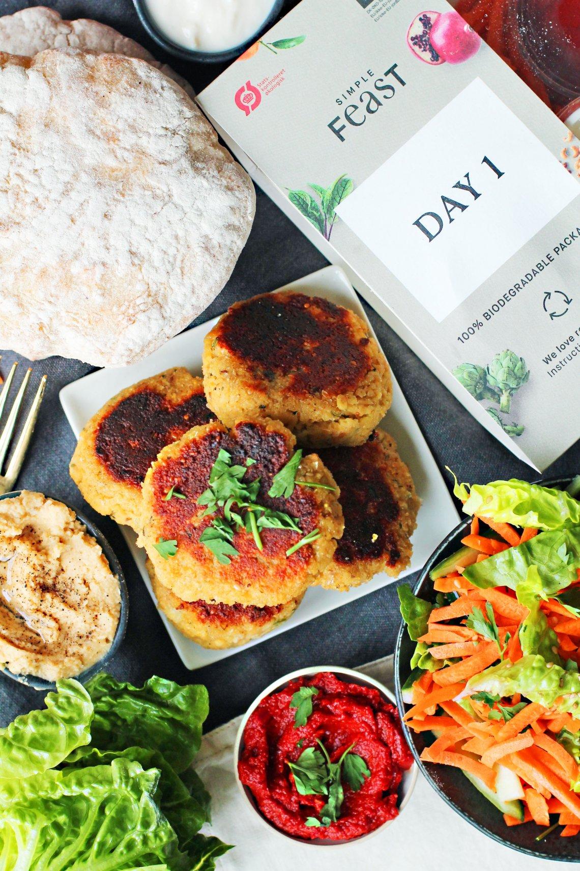 vegansk middagskasse