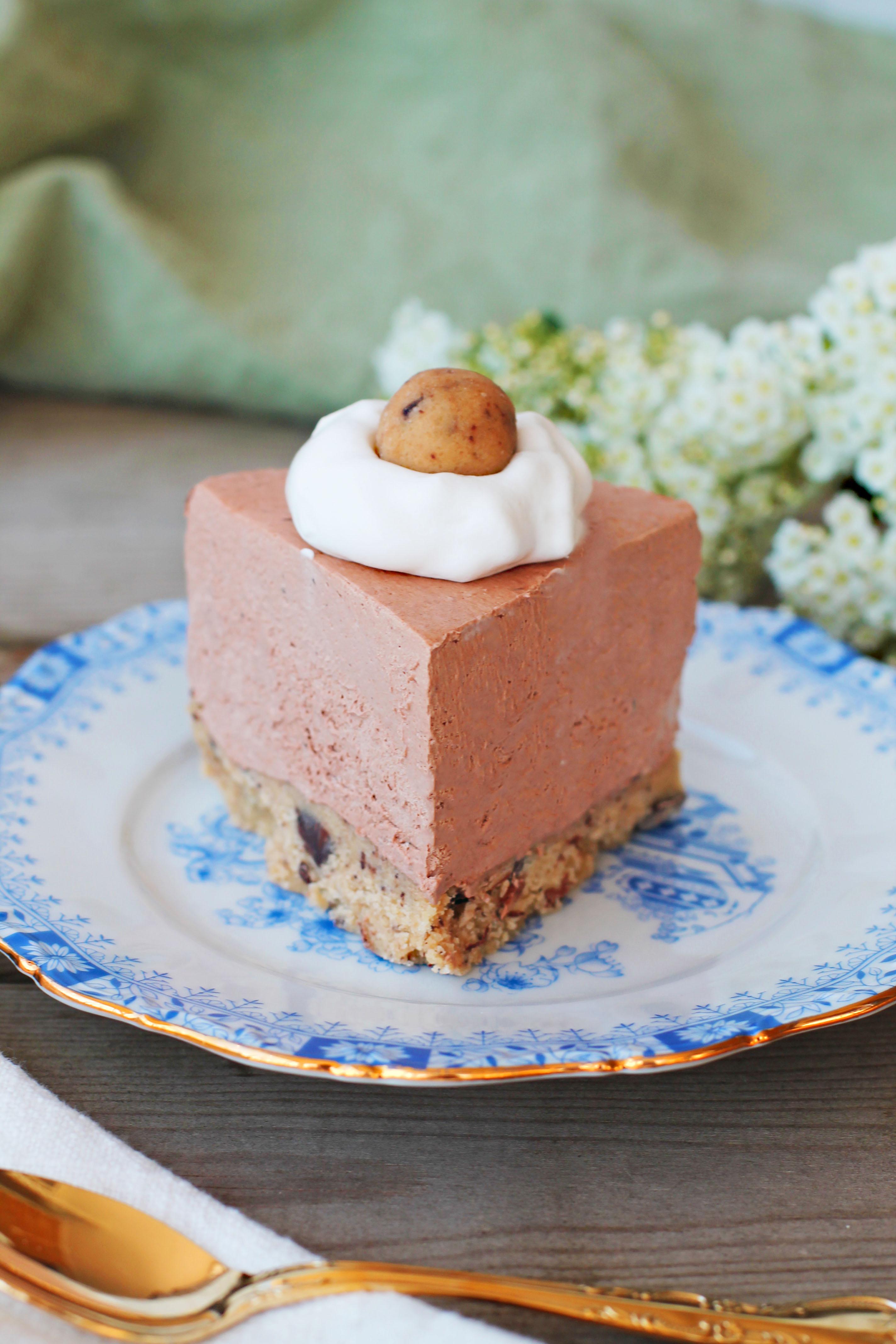 choklad cheesecake vegan
