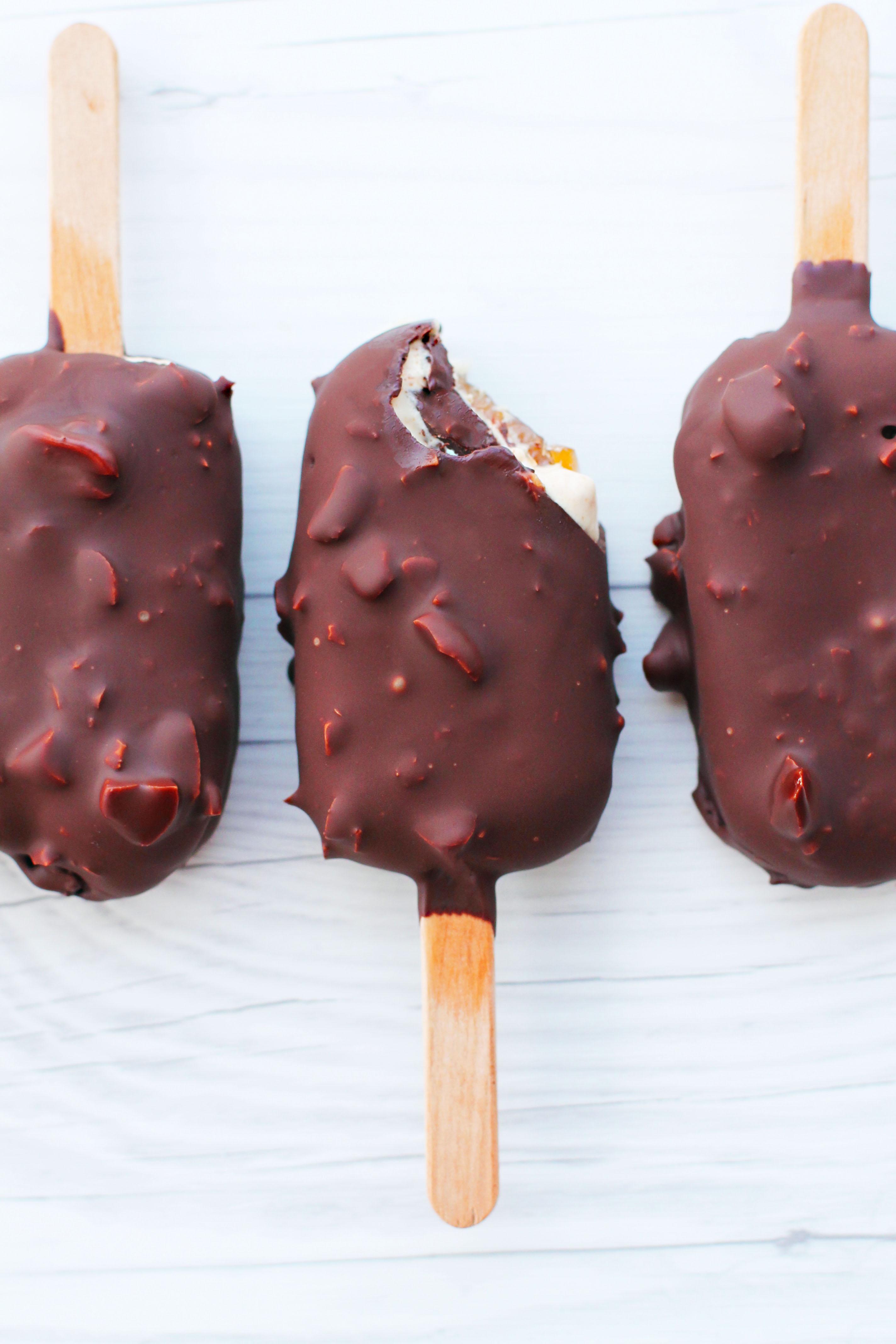 vegansk glass choklad
