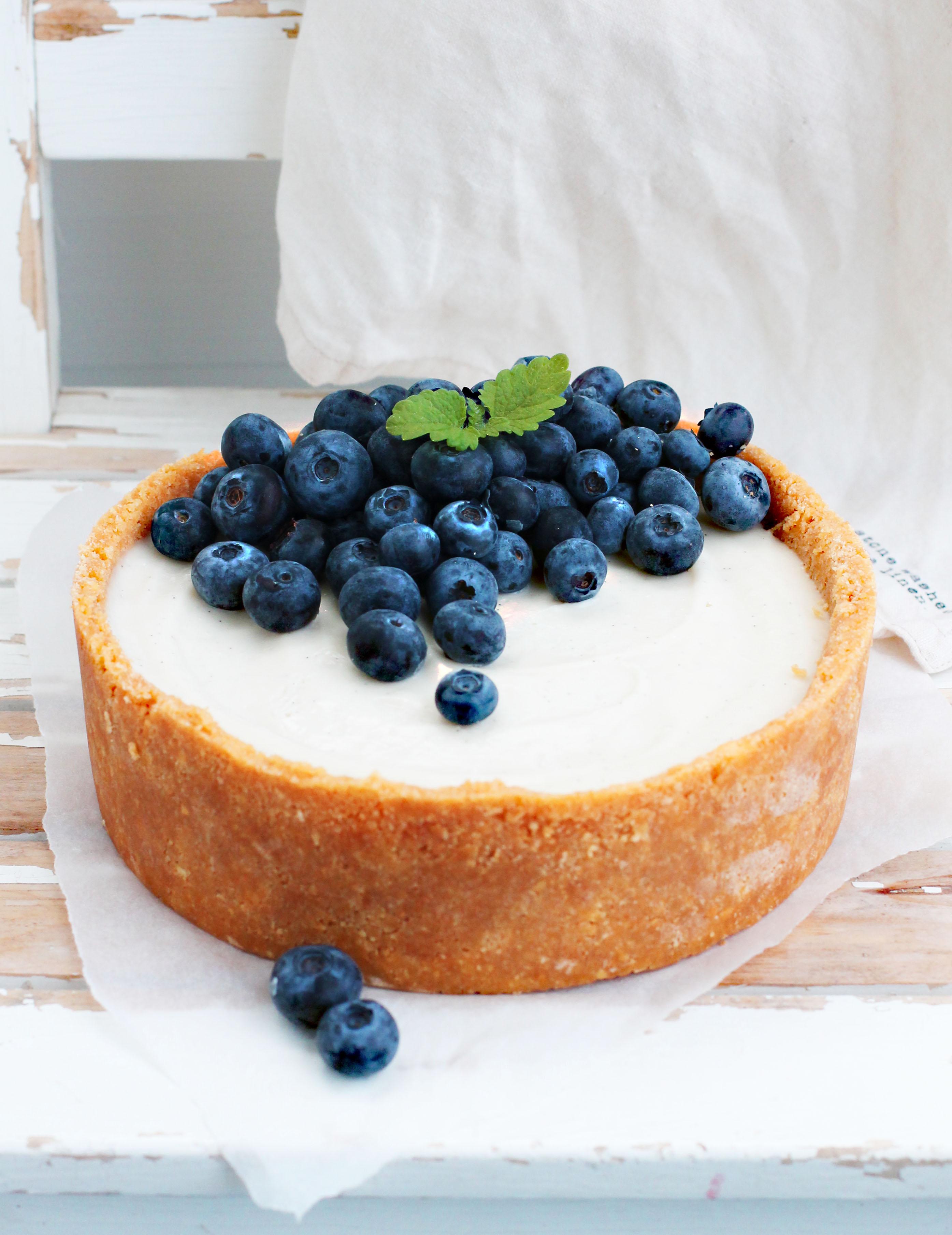 vegansk vaniljpaj