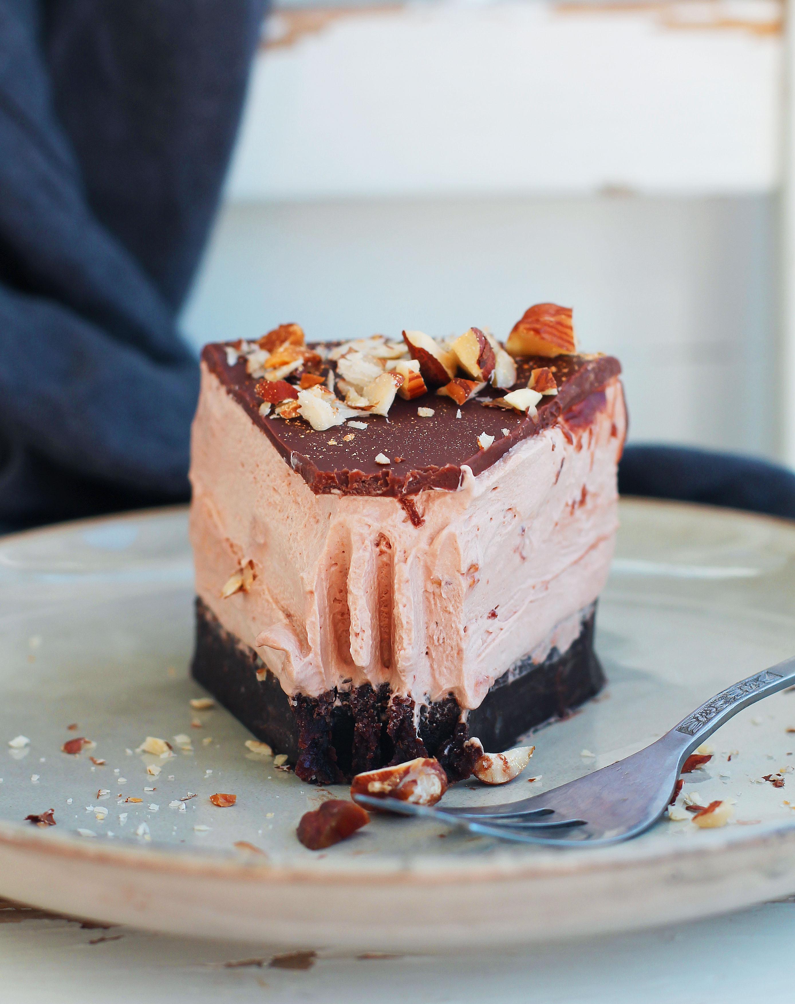 cheesecake choklad vegan