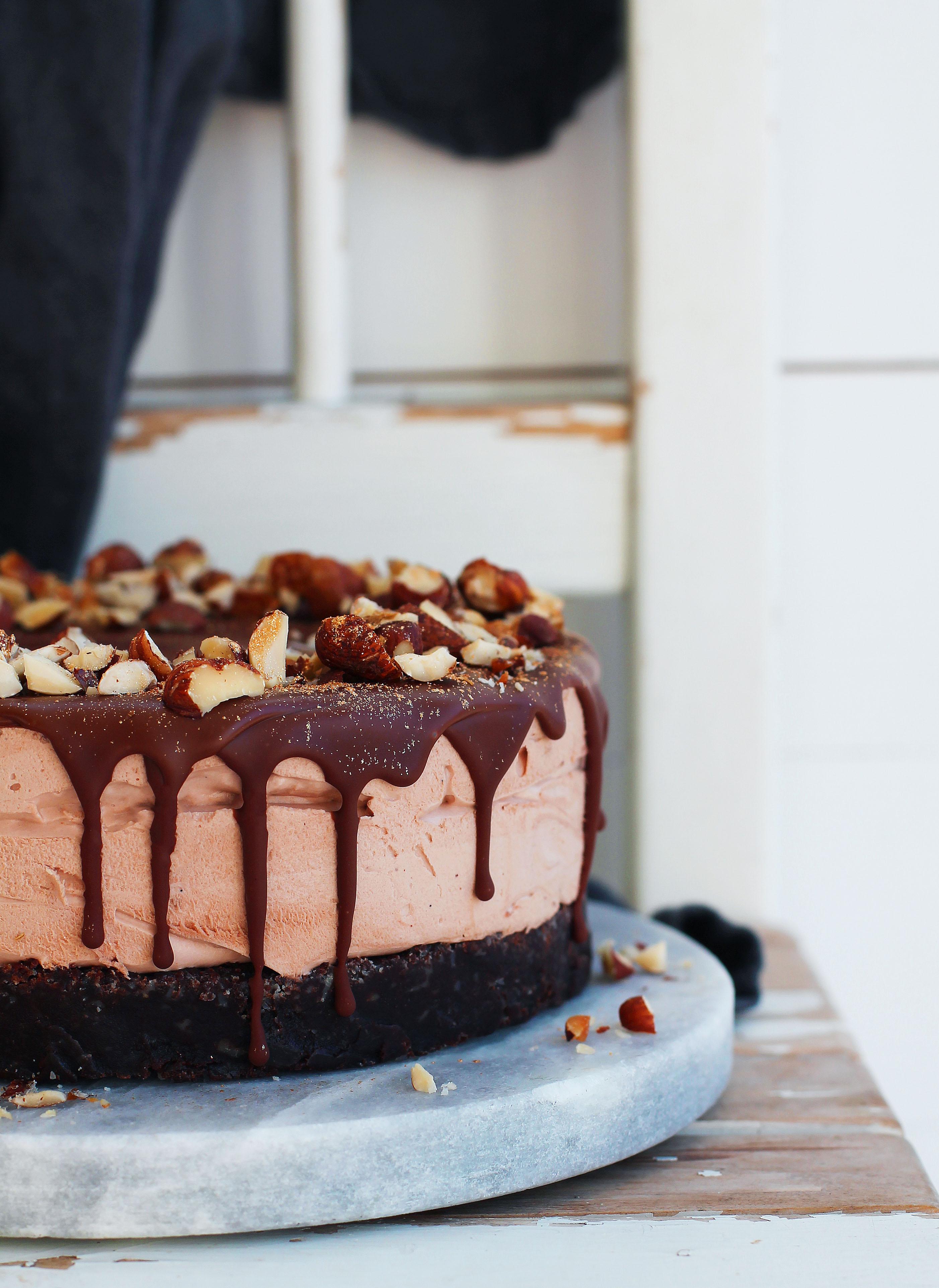vegansk chokladcheesecake recept