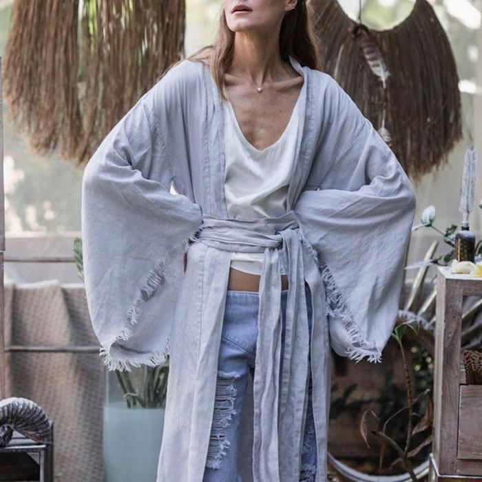 kimono i linne yogia